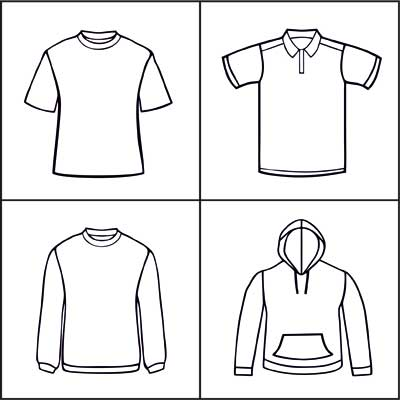 Choose your clothing