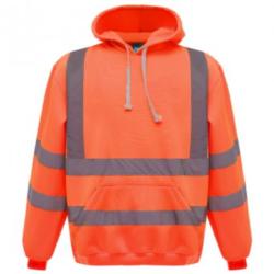 Hi Vis Hoodie Orange